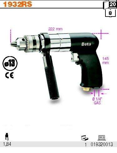 Beta 1932RS13 Wiertarka dwukierunkowa 13mm