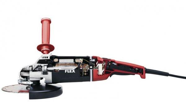 Szlifierka kątowa 230mm FLEX L 3206 CD Czerwony Miś (322.717)