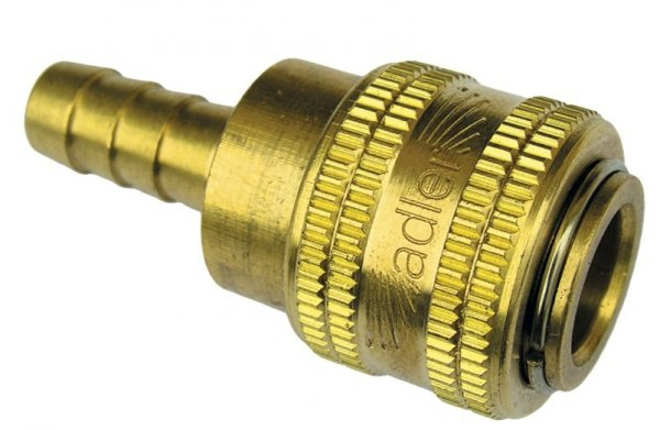 ADLER Szybkozłączka na przewód 12mm MOSIĄDZ
