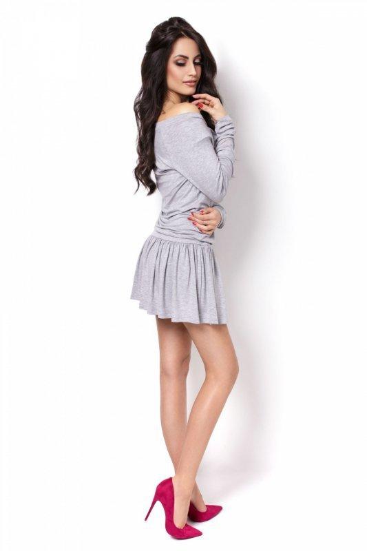 Sukienka Agnes - szary