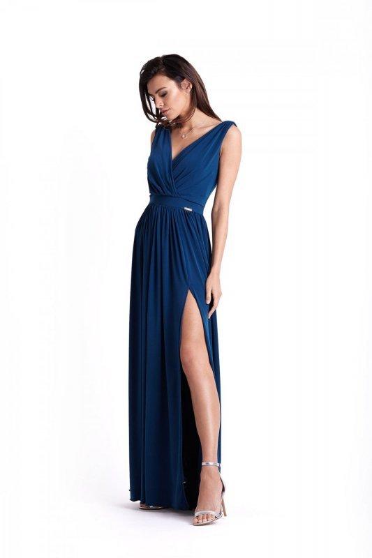 Wieczorowa Sukienka Philippa - atrament
