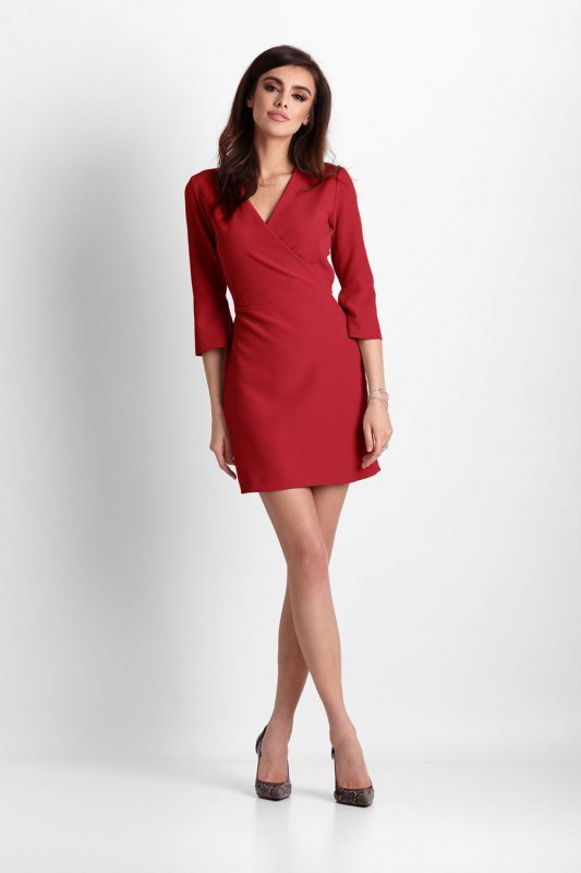 Sukienka Blanche - czerwony