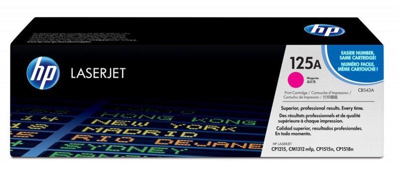 HP Inc. Toner 125A CLJ CP1215 Purpurowy (Magenta) 1.4k CB543A
