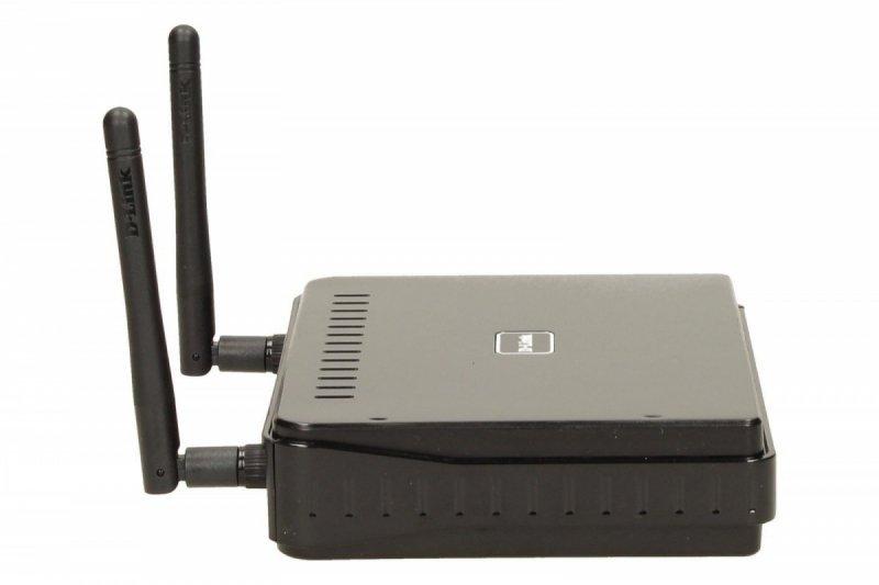 D-Link DAP-1360 punkt dostępu WiFi N300 (2.4GHz) 1xLAN 2xRP-SMA (odkręcane) MIMO WDS