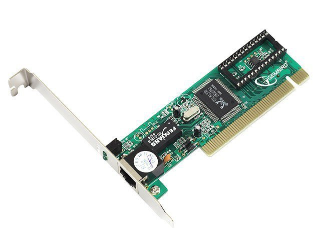 Gembird Karta sieciowa PCI 10/ 100 Realtek BOX