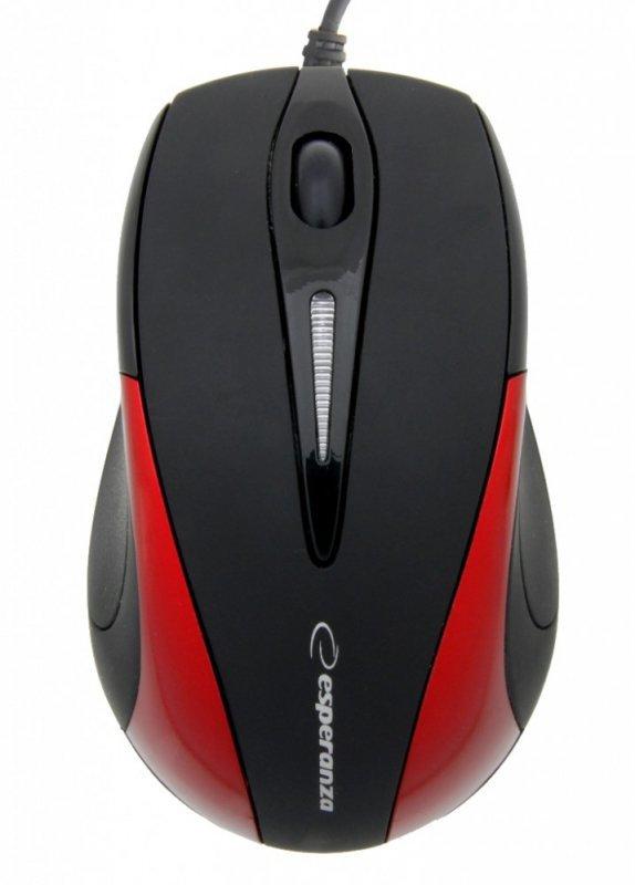 Esperanza SIRIUS Mysz Optyczna EM102R USB