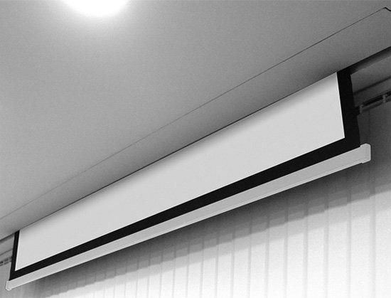 AVTek Ekran elektryczny Business Electric 200, 16:10, 195 x121.8 cm, powierzchnia biała, matowa