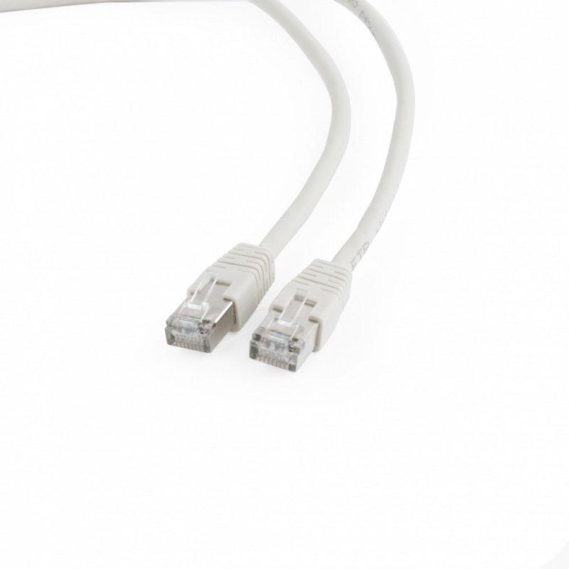 Gembird Patch cord ekranowany FTP kat.6 oslonka zal. 0.25m szary
