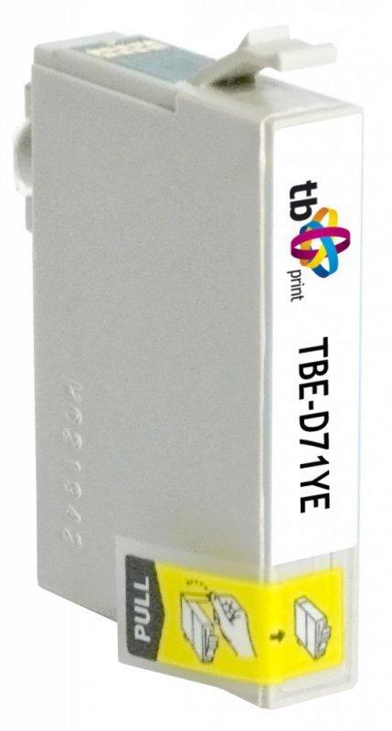 TB Print Tusz do Epson T071440 TBE-D71YE YE 100% nowy