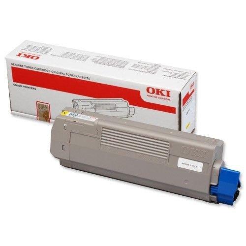 OKI Toner-C610 YELLOW 44315305