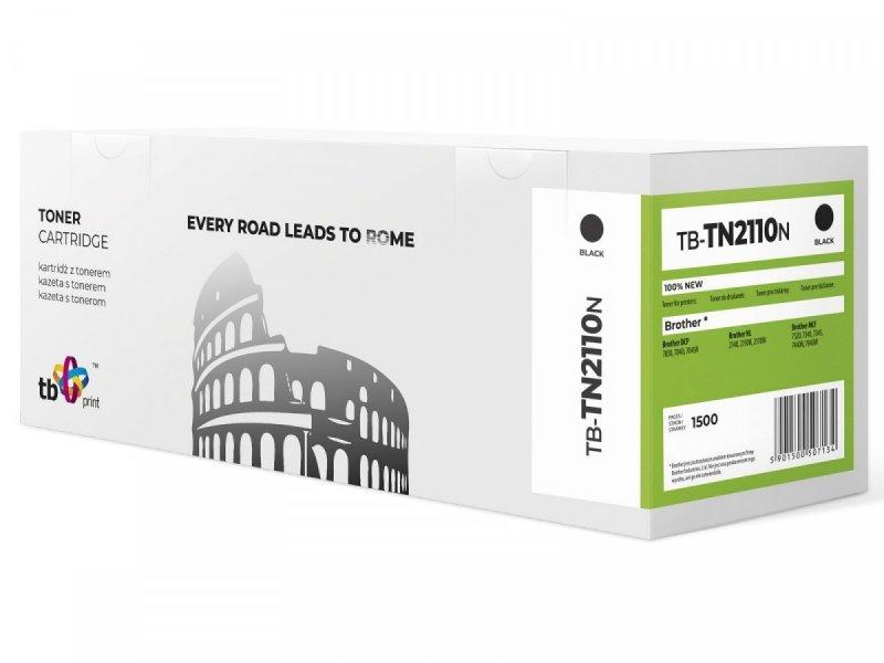 TB Print Toner do Brother TN2110 TB-TN2110N BK 100% nowy
