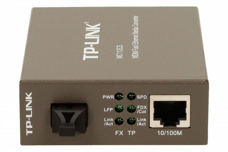 TP-LINK MC112CS media konwerter 10/100 WDM