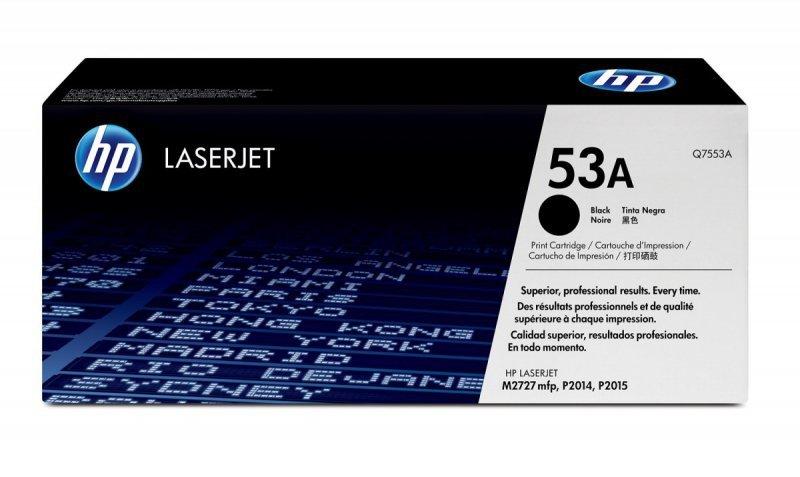 HP Inc. Toner do P2015 53A Czarny 3k Q7553A
