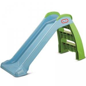 Little Tikes Zjeżdżalnia Ogrodowa First Slide Moja Pierwsza 95 cm Niebieska