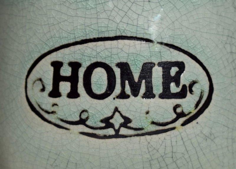 WAZON CERAMICZNY HOME OZDOBA DEKORACYJNA