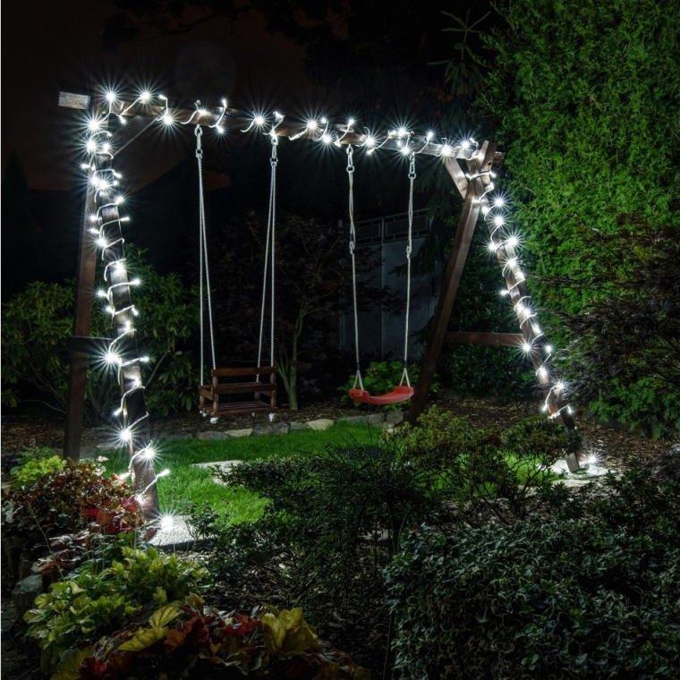 LAMPKI CHOINKOWE LED 200SZT  ZIMNY BIAŁY