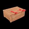 Kuferek - Szampanówka (Naturalna/Wstążka/40cm) - sklep z wiklina - zdjęcie