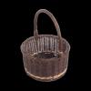 Osłonka na doniczkę z rączką (25cm) sklep z wiklina - zdjęcie