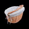 Kosz rowerowy z wkładem (Clik/naturalny) - sklep z wiklina - zdjęcie 4