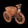 Osłonka na doniczke (Rower/Mały) - Sklep z wiklina - zdjęcie
