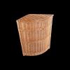 Kosz na ubrania (narożny/35cm) - sklep z wiklina - zdjęcie