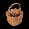 Kosz piknikowy  (Kwadrat/30cm) - sklep z wiklina - zdjęcie