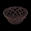 Tacka ażurowa wenge (Okrągła/23cm) - sklep z wiklina - zdjęcie