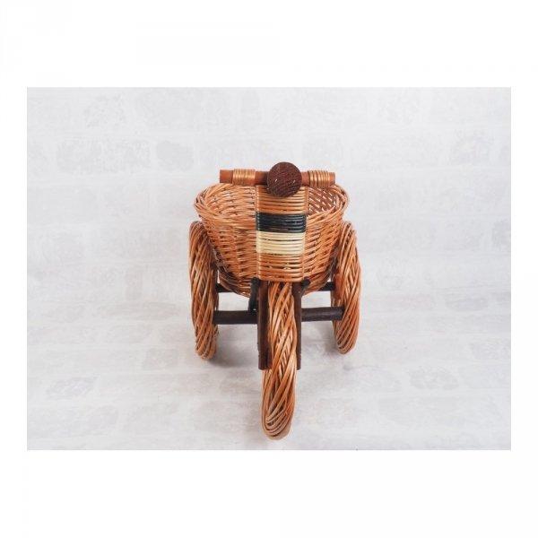 Osłona na doniczke (Rower/Średni) Sklep z wiklina - zdjęcie 1
