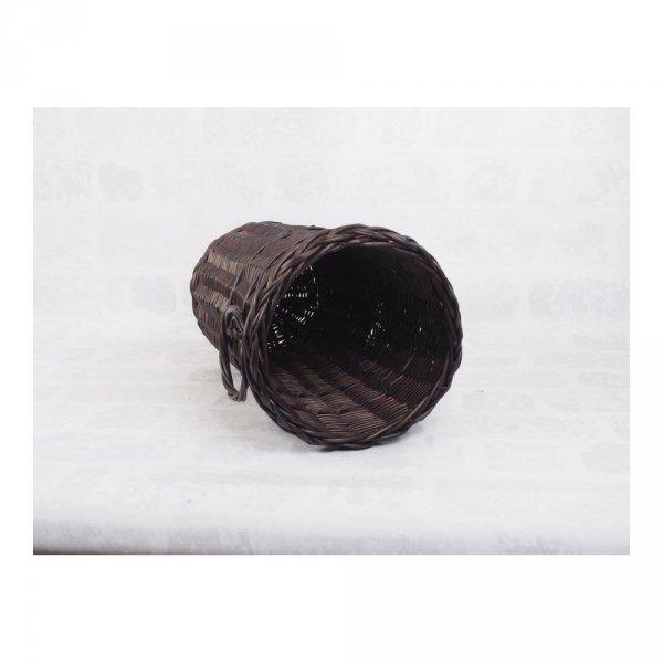 Kosz na parasole (Pełnopleciony/Wenge) - sklep z wiklina - zdjęcie 2