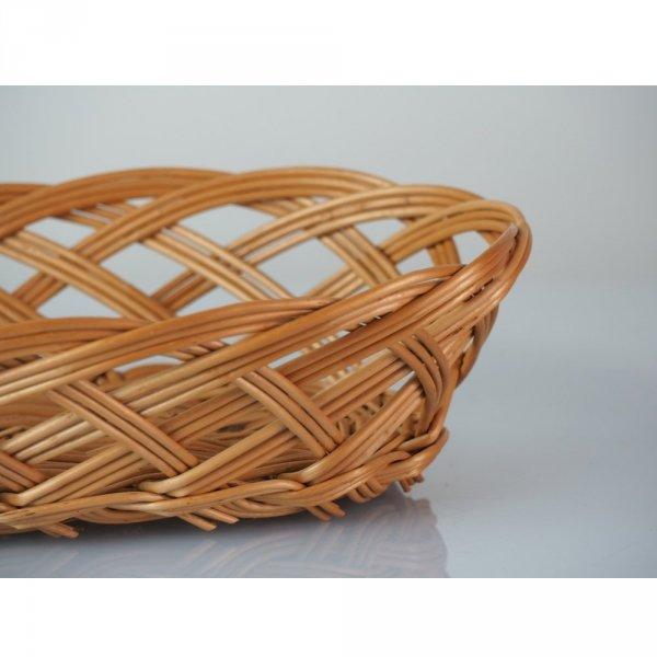 Tacka ażurowa (Owalna/25cm) - sklep z wiklina - zdjęcie 1