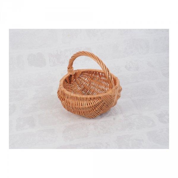 Koszyczek Wielkanocny (baniak/25cm) - sklep z wiklina - zdjęcie 1