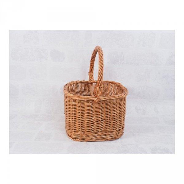 Kosz piknikowy  (Kwadrat/30cm) - sklep z wiklina - zdjęcie 2