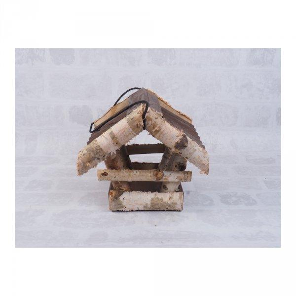 Karmnik dla ptaków (Kolor/Brzoza/Średni) - sklep z wiklina zdjęcie 3