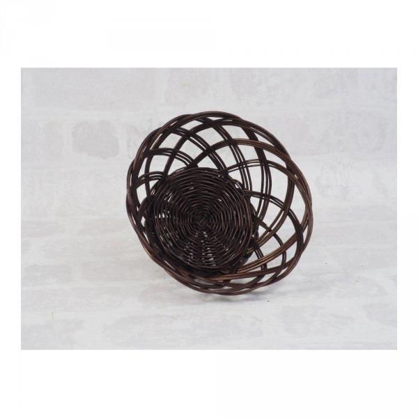 Tacka ażurowa wenge (Okrągła/23cm) - sklep z wiklina - zdjęcie 1