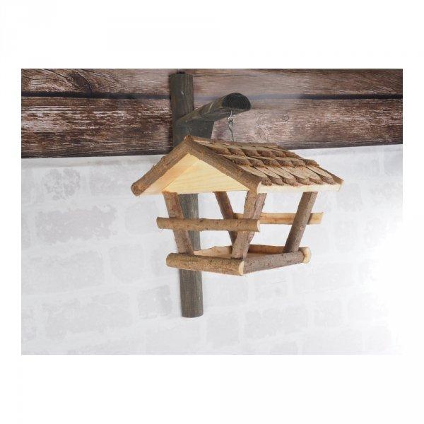 Karmnik dla ptaków (Łuska/Średni) - sklep z wiklina - zdjęcie 3