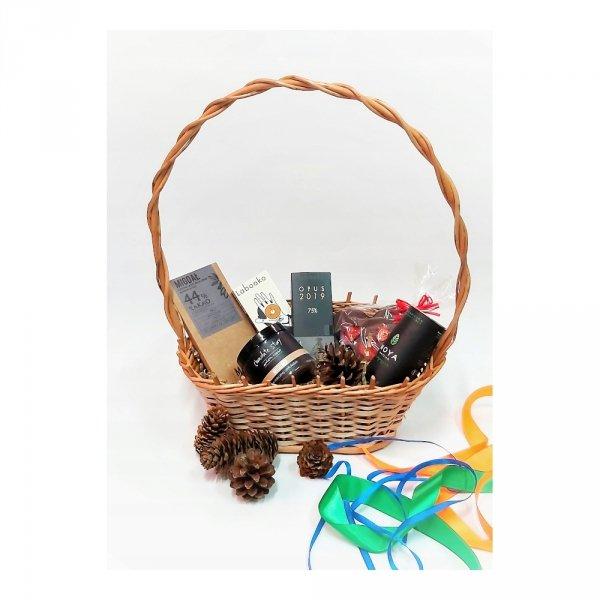 Kosz prezentowy (Mały) - sklep z wiklina - zdjęcie 3