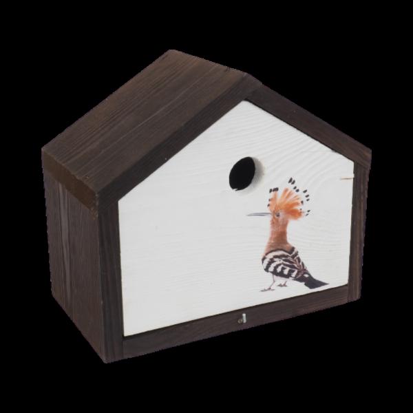 Budka lęgowa dla ptaków (Ptak 2/Duża) - sklep z wiklina - zdjęcie