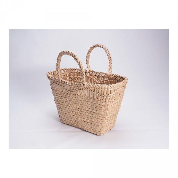 Kosz na zakupy - torba plażowa (Rafia/40cm) - sklep z wiklina - zdjęcie 2