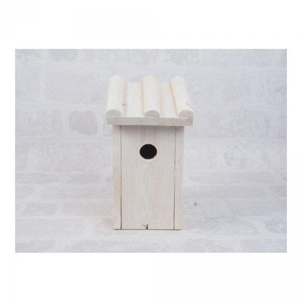 Budka lęgowa dla ptaków (Drewno/Kolor) - sklep z wiklina - zdjęcie 5