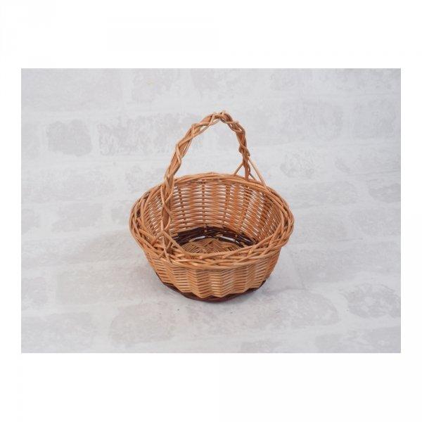 Koszyczek Wielkanocny (okrągły) - sklep z wiklina - zdjęcie 1