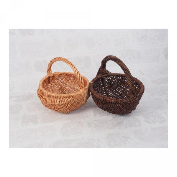 Koszyczek Wielkanocny (baniak/25cm) - sklep z wiklina - zdjęcie 3