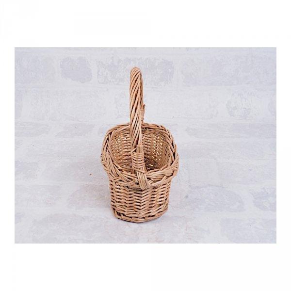 Koszyczek Wielkanocny  (Owalny/28 cm) - Sklep z wiklina - zdjęcie 2