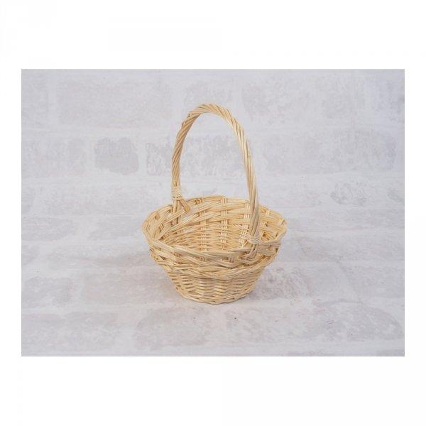 Koszyczek Wielkanocny (beżowy/25cm) - sklep z wiklina - zdjęcie 2