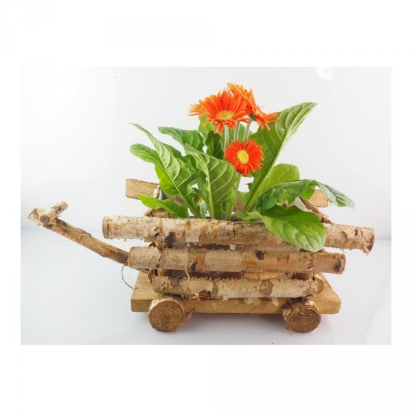 Donica brzozowa (wóz) - sklep z wiklina - zdjęcie 3