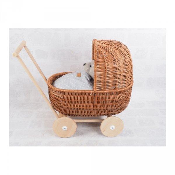 Wózek dla lalek (Standard/53cm) - sklep z wiklina - zdjęcie 2