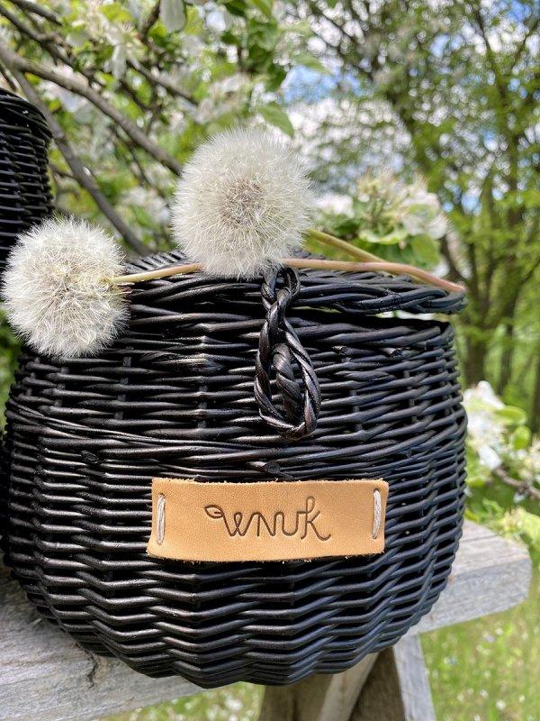 Szkatułka okrągła wenge (Baryłka/11cm) - Sklep z wiklina - zdjęcie 3