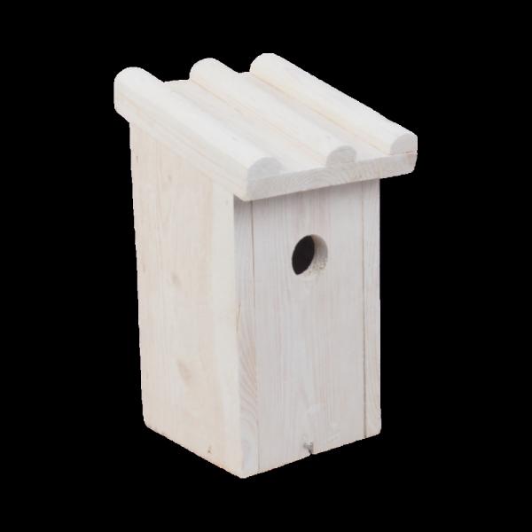 Budka lęgowa dla ptaków (Drewno/Kolor) - sklep z wiklina - zdjęcie 4
