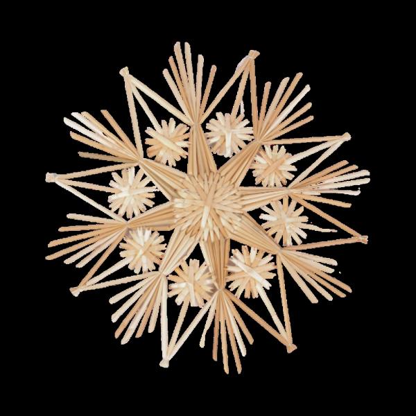 Gwiazda słomiana (komplet 5 sztuk) - sklep z wiklina - zdjęcie