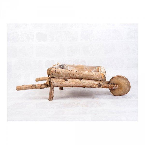 Donica brzozowa (taczka) - sklep z wiklina - zdjęcie 1