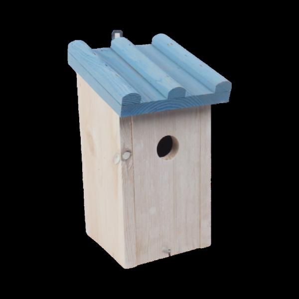 Budka lęgowa dla ptaków (Drewno/Kolor) - sklep z wiklina - zdjęcie